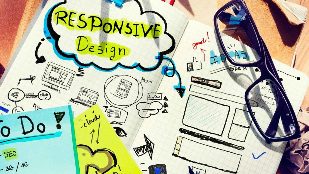 Site internet responsive design