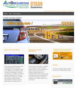 Site centre de contrôle technique auto