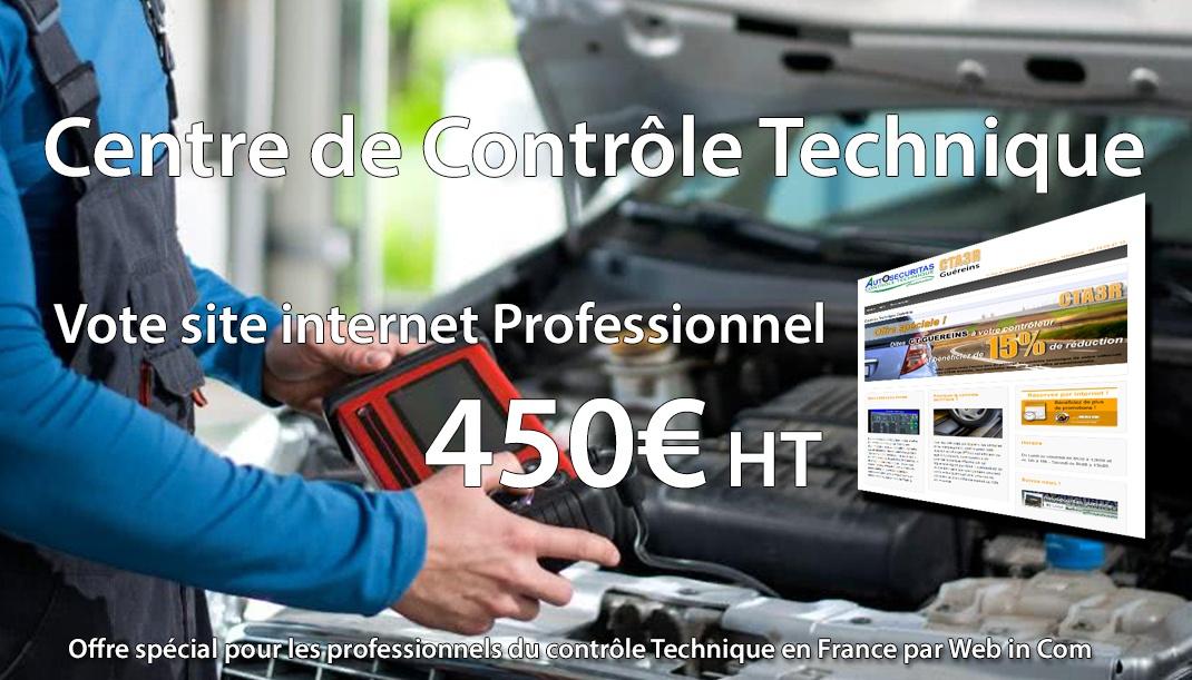 Création de site internet pro contrôle technique
