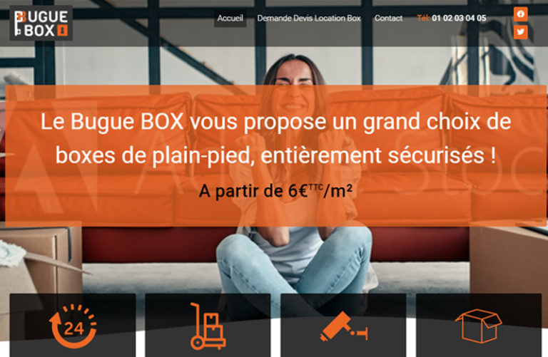 le bugue box Dordogne - site vitrine
